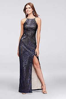 Long Sheath Halter Formal Dresses Dress - Teeze Me