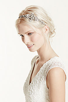 Large Casted Flower Headband H9045