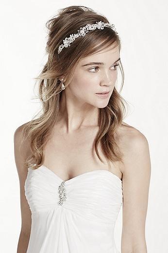 Crystal Floral Headband H9092
