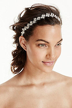 Scattered Rhinestone Headband H9094
