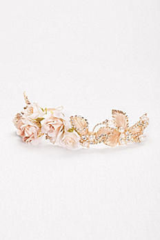 Rosebuds and Rhinestones Flexible Headband H9137