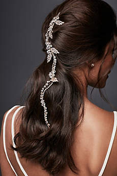 Flexible Crystal Hair Vine