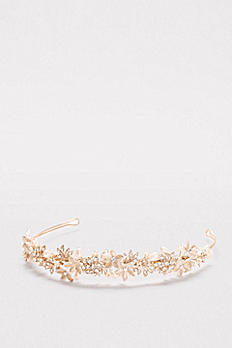 Pearls and Petals Flexible Headband H9141