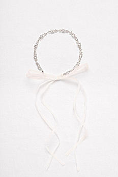 Linked Crystal Headband H9148