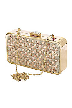 Crystal Checkered Minaudiere HB60