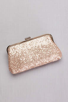 Sequin Evening Pouch