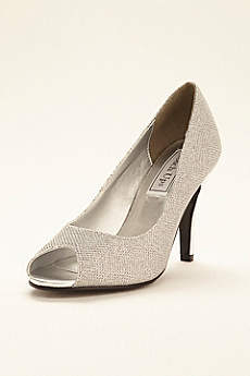 Touch Ups Grey Pumps (Ice Peeptoe Pump by Touch Ups)