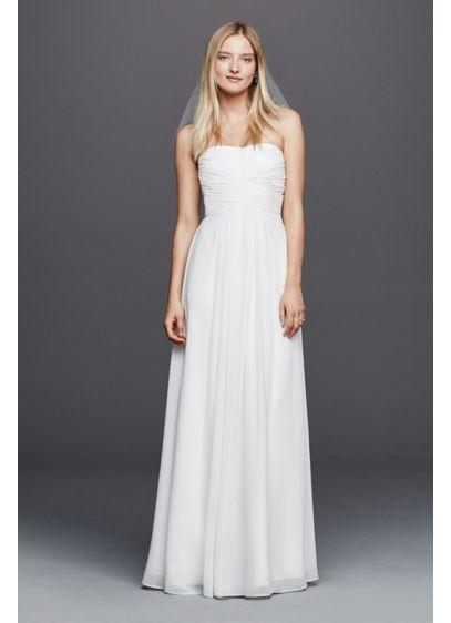 long sheath beach wedding dress db studio