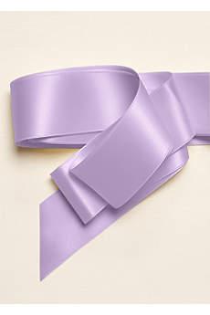 Wide Satin Sash Ribbon