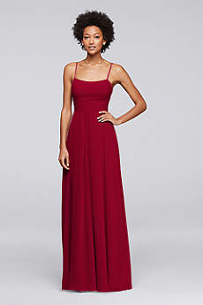 Soft & Flowy David's Bridal Bridesmaid Dress