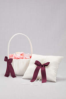 DB Exclusive Single Ribbon Pillow and Basket