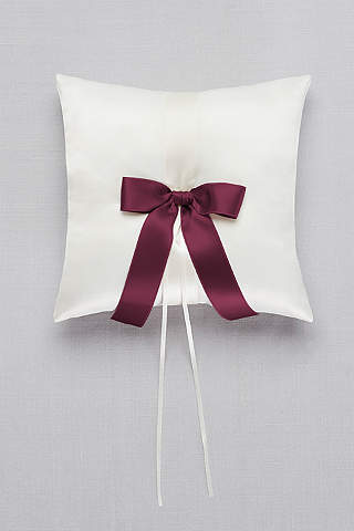 Ring Bearer Accessories: Pillows & Signs   David\'s Bridal