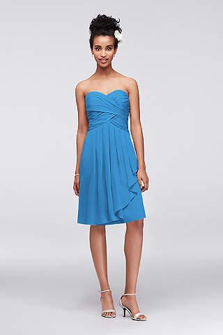 Cornflower Bridesmaid Dresses | Davids Bridal