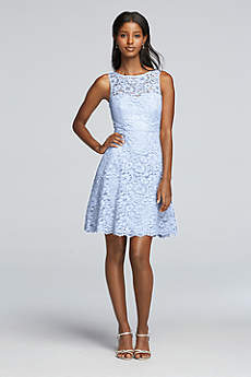 Short Sheath Tank Cocktail and Party Dress - David's Bridal
