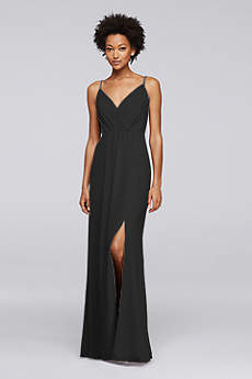 Long A-Line Spaghetti Strap Formal Dresses Dress - David's Bridal
