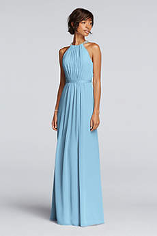 Soft & Flowy Wonder by Jenny Packham Long Bridesmaid Dress
