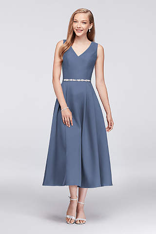 Tea Length Flowy Dress