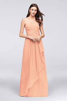 Long Bridesmaid Dresses &amp Full Length Gowns  David&39s Bridal