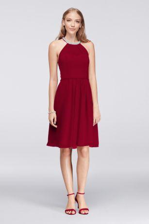 Short cocktail dress size 0 capri