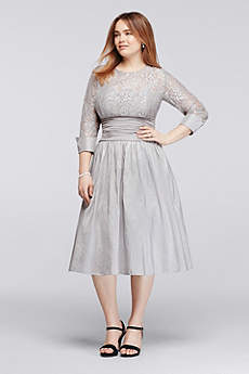 Short A-Line 3/4 Sleeves Mother and Special Guest Dress - Jessica Howard