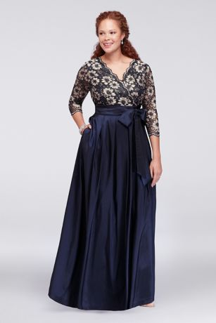 Party dresses plus size women