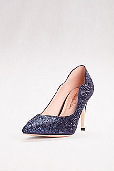 Embellished Pointed Toe Pumps JOSIE-2