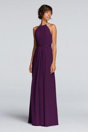 Long bridesmaids dresses
