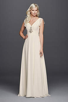 Long A-Line Beach Wedding Dress - Wonder by Jenny Packham