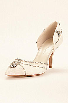 Wonder by Jenny Packham Crystal Embellished Pump JP650031