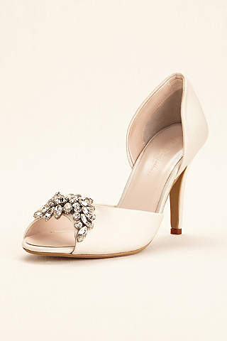 Ivory Wedding & Bridal Shoes: Flats & Heels | David's Bridal