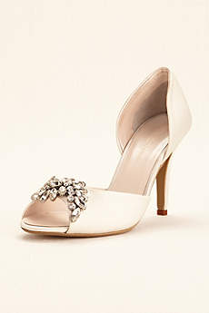 Wonder by Jenny Packham Black (Wonder by Jenny Packham Peep Toe Pump)