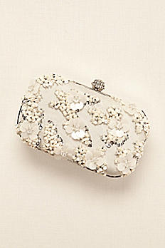 Sequin Embellished Minaudiere Clutch JP660002