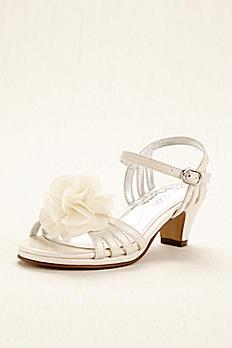 Touch of Nina Flower Girl Sandal with Flowers KALEENA