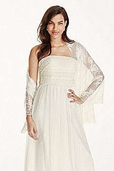 All Over Lace Wrap KP152
