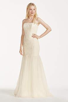 Long Mermaid/ Trumpet Casual Wedding Dress - Galina