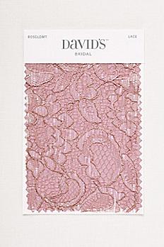Rose Gold Metallic Fabric Swatch ESWATCHROSEGOLDMTLC
