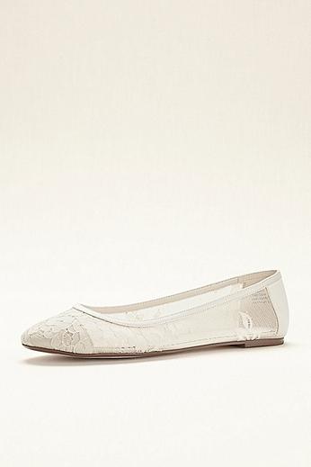 Melissa Sweet Lace Ballet Flat LANEY