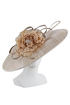 Wide Brim Fascinator Hat LDF40