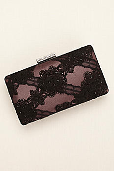 Lace and Satin Evening Minaudiere by Menbur LEBA