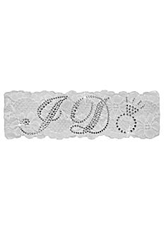Sparkling I Do Lace Garter LGIDO