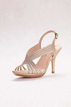 Crystal Slingback Sandals LIN95