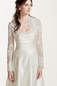 Long Sleeve Lace Jacket LSLACE