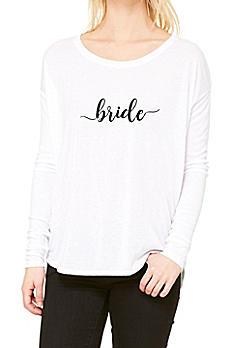 Bride Calligraphy Shirt LST8