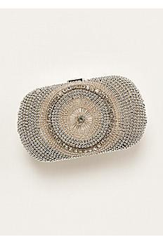 Expressions NYC Embellished Minaudiere Handbag LUNA