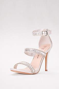 Blossom Black Sandals (Multi-Strap High Heel Sandals)