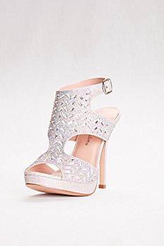 High Heel Embellished Shooties MARNA-46