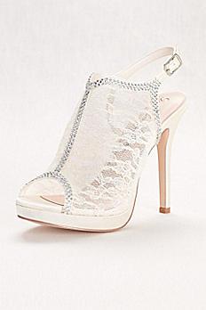 Lace Slingback Platform Sandal MARNA52X