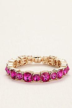 Round Stone Magnetic Bangle Bracelet MBR8210