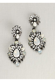 Opal Starburst Statement Earrings ME18200