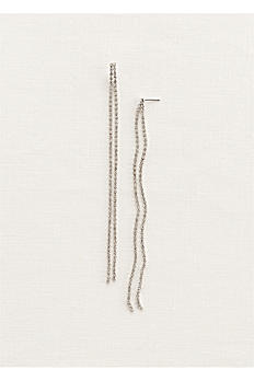 Long Crystal Shoulder Duster Earrings ME18949